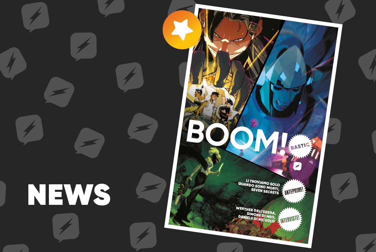 Edizioni BD annuncia tre nuovi titoli targati BOOM! Studios: Li troviamo solo quando sono morti, Seven Secrets e Folklords
