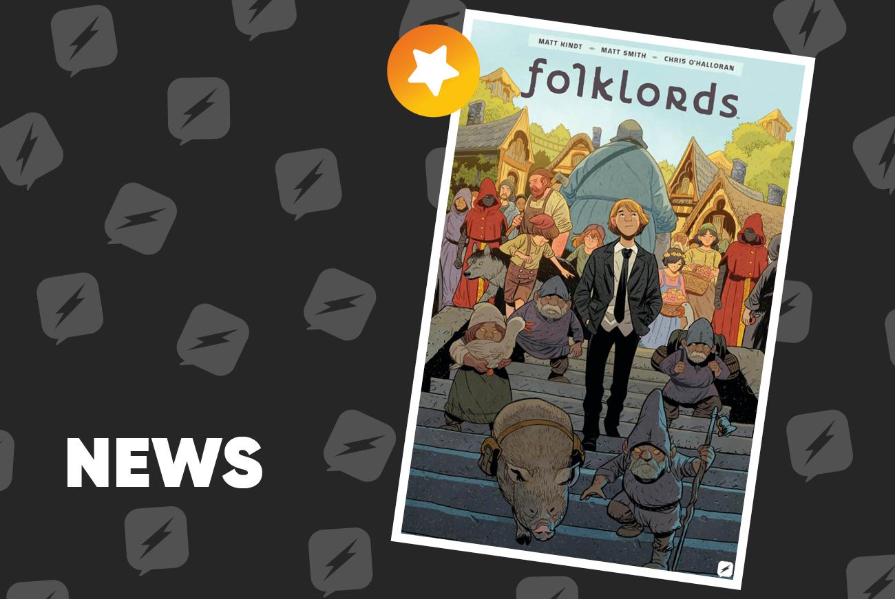 Edizioni BD presenta Folklords, nuova opera Boom! Studios
